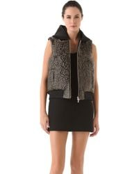 Josh Goot - Quilted Hooded Vest - Lyst