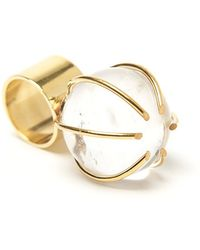 Kelly Wearstler - Quartz Prong Cocktail Ring - Lyst
