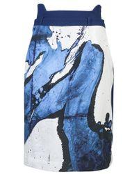 Preen By Thornton Bregazzi Splash Skirt - Lyst