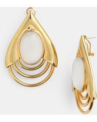 Belle Noel Teardrop Earrings - Lyst