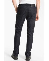 John Varvatos Bowery Ardmore Slim Straight Leg Jeans - Lyst