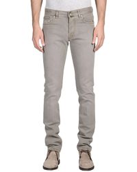 Pt05 Denim Trousers - Lyst