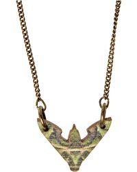 Tatty Devine | Tatty Devine Hawk Moth Mini Necklace | Lyst