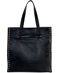 Valentino Shopping Bag With Studs - Lyst