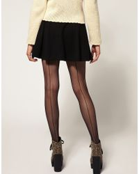Gipsy French Back Seam Tights - Lyst