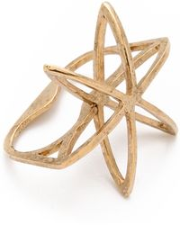 Low Luv by Erin Wasson - Cosmos Double Finger Ring - Lyst