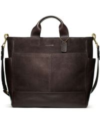 Coach Bleecker Suede Utility Tote - Lyst