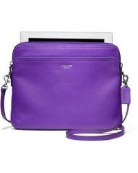 Coach Legacy Leather Double Universal Sleeve - Lyst