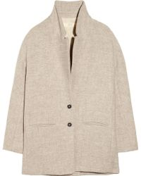 Vanessa Bruno Athé - Oversized Woolblend Coat - Lyst
