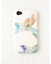 Free People Illustrator Iphone 44s Case white - Lyst