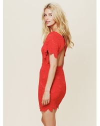 Free People Flutter Spanish Lace Dress - Lyst