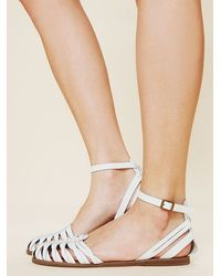 Free People Hadley Fishtail Sandal - Lyst