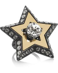 Lanvin Danseuses Swarovski Crystal Ring - Lyst