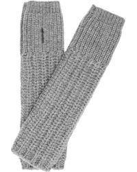 Stella McCartney Chunkyknit Wool Arm Warmers - Lyst