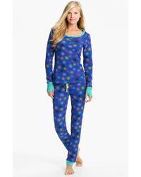 Steve Madden   Cosy Up Print Thermal Pyjamas   Lyst