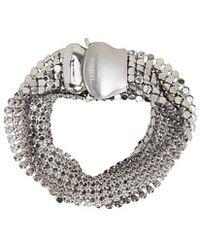 Breil - Silk Mesh Wrap Bracelet - Lyst