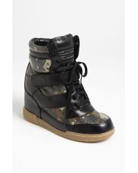 Marc By Marc Jacobs High Top Wedge Sneaker - Lyst