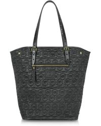 McQ by Alexander McQueen Black Quilted North South Tote - Lyst