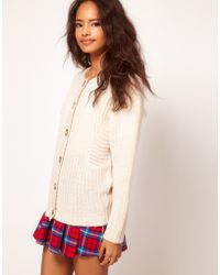 ASOS Collection Ovoid Cardigan - Lyst