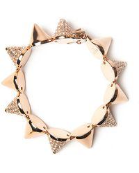 Eddie Borgo - Alternating Pave Cone Bracelet - Lyst
