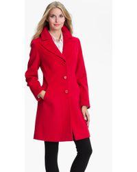Kristen Blake Single Breasted Walking Coat - Lyst