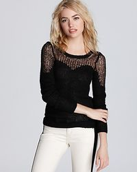 Free People Sweater Cozy Ginger black - Lyst