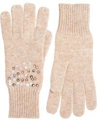Oasis - Scatter Sequin Gloves - Lyst