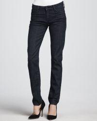 Vince Dark Skinny Jeans - Lyst