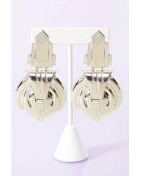 Nasty Gal Deco Earrings - Lyst