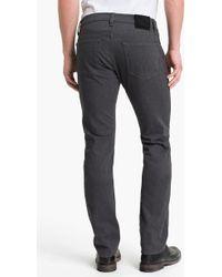 J Brand 'Kane' Slim Fit Pants (Grey Melange) - Lyst