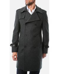 7 Diamonds Arezzo Wool Coat - Lyst