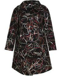 Ann Harvey - Muliti Colored Embroidered Coat - Lyst