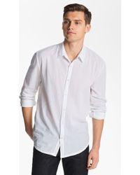 James Perse Classics Woven Shirt - Lyst