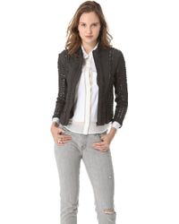 Bliss and Mischief - Leilani Leather Jacket - Lyst