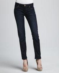 Paige Slim Boyfriend Jeans - Lyst