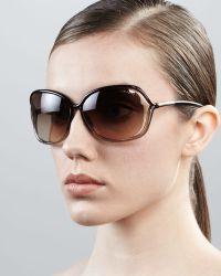 Tom Ford - Raquel Squared Sunglasses - Lyst