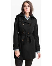 London Fog Heritage Trench Coat With Detachable Liner - Lyst