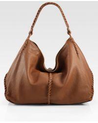 Bottega Veneta Cervo Large Hobo Bag - Lyst