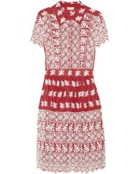Collette by Collette Dinnigan | Embroidered Cotton Dress | Lyst