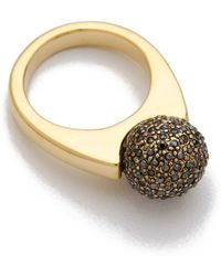 House of Harlow 1960 - Crystal Orb Ring - Lyst