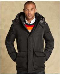 Tommy Hilfiger Hooded Parka - Lyst