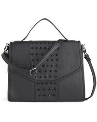 ModCloth Impossible To Understud Bag black - Lyst