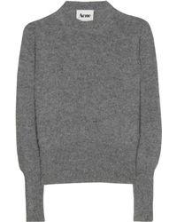Acne Studios Lia Angora Knit Pullover - Lyst