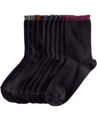 H&M 5pack Socks black - Lyst