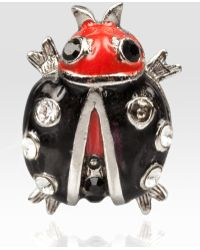 Jay Strongwater - Caroline Lady Bug Tack Pin - Lyst