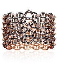 Hermès Oceane Bracelet gold - Lyst