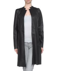 Marni Leather Outerwear - Lyst