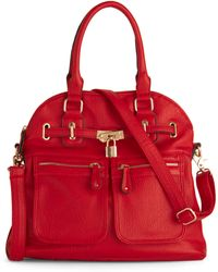 ModCloth - Girl with Curves Bag in Red - Lyst