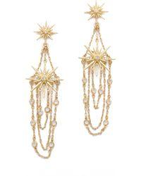 Belle Noel Vintage Glamour Earrings - Lyst