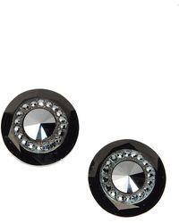 Lanvin Earrings black - Lyst